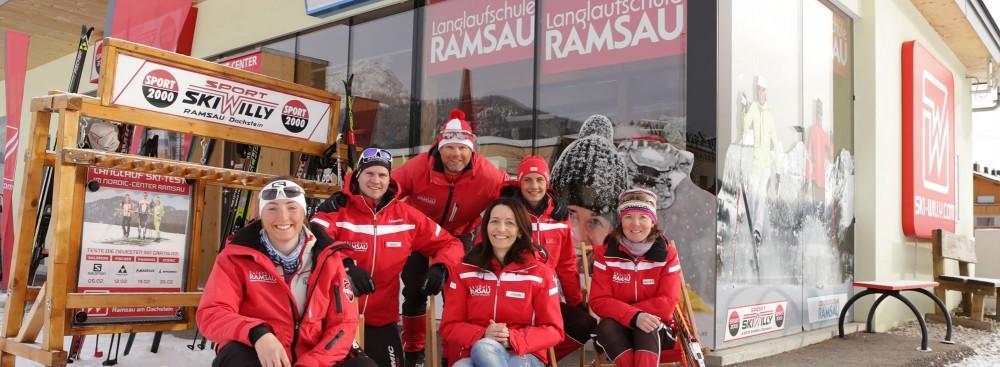 Aktivkurse: WintersportSkilanglaufen in der Ramsau
