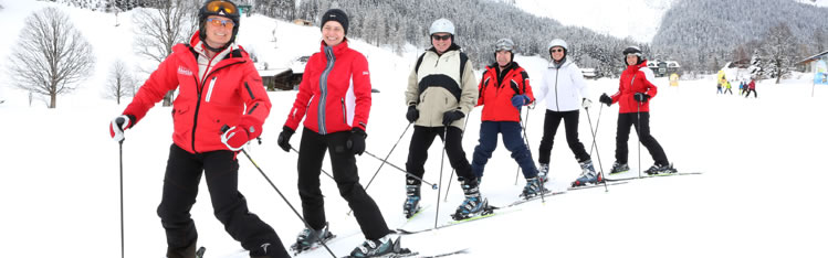 Package incl. Equipment for adult ski lessons